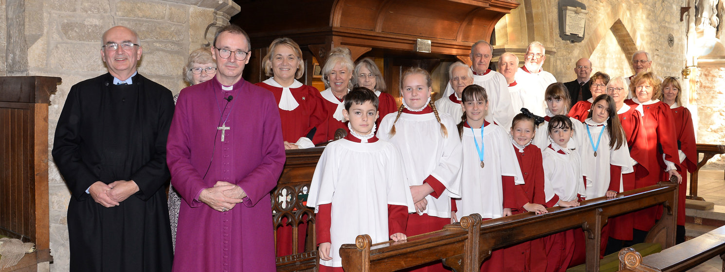 The service of thanksgiving and rededication of the organ at St Guthlac's, Market Deeping