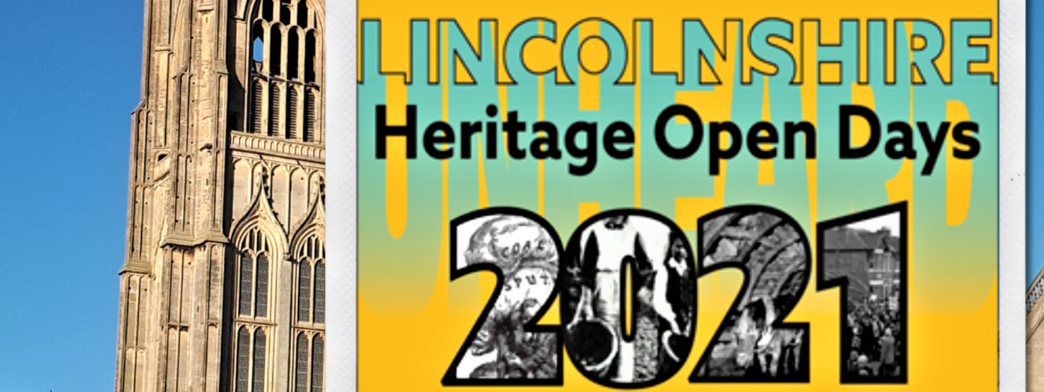 Lincolnshire Heritage Open Days 2021