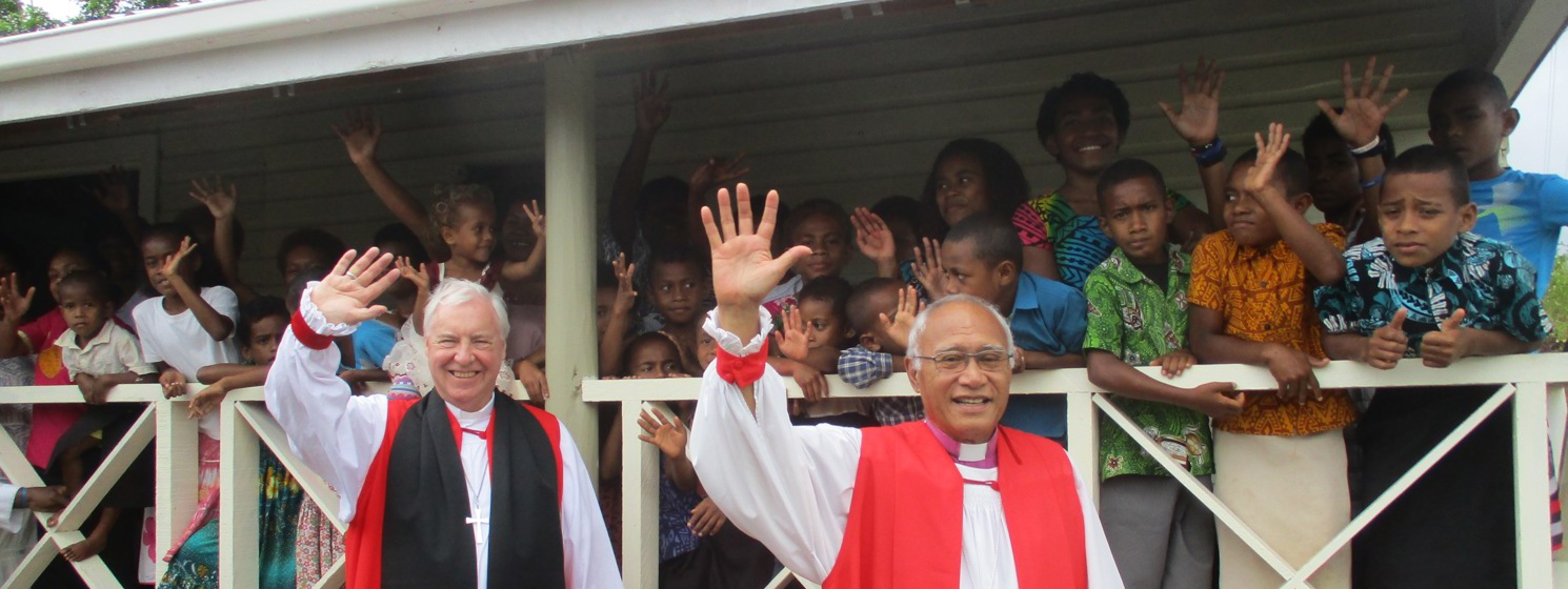 Bishop Christopher hears of the impact of climate change in Fiji